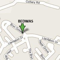 Bedwas Map