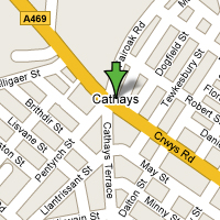 Cathays Map