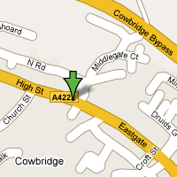Cowbridge Map